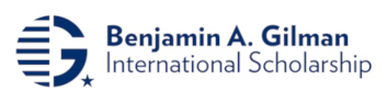 Benjamin A. Gilman International Scholarship logo. Visit the Gilman scholarships website.