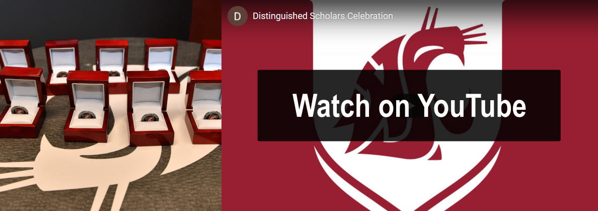 Watch the 2020 Distinguished Scholars Celebration on YouTube. The event took place on October 28.
