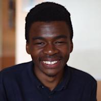 Maximillian Obasiolu, Schwarzman finalist for the 2020-21 academic year.