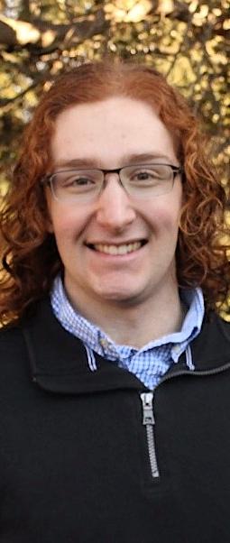 Undergraduate peer mentor Patrick Robichaud.