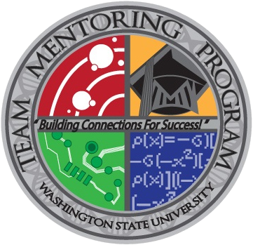 Logo of the WSU Team Mentoring Program: Building connections for Success!