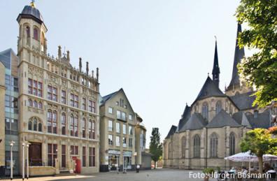 Wesel's Domplatz