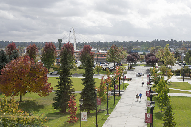 Campus in the Fall 2018