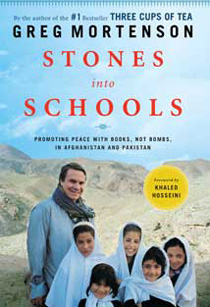 Book cover of Stones into Schools.