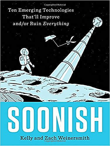 Book cover for Soonish.