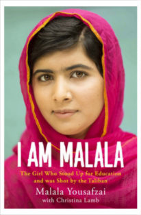Book cover of I Am Malala: The Girl Who Stood Up for Education and was Shot by the Taliban.
