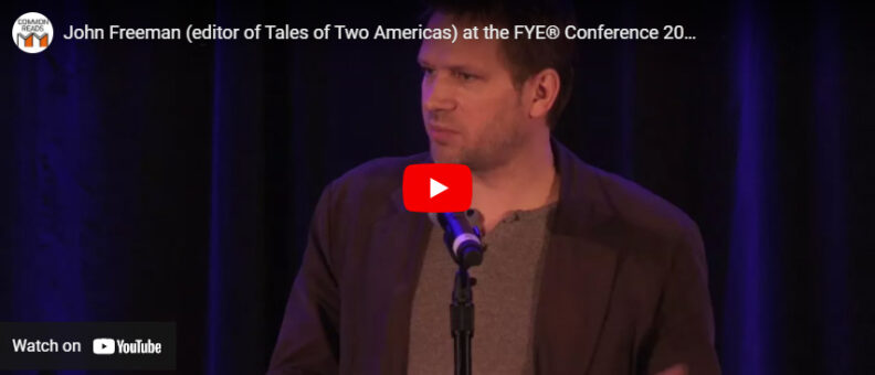 Watch a recording of John Foreman's speaking about his book at the 2018 First-Year Experience® Conference in San Antonio, TX.