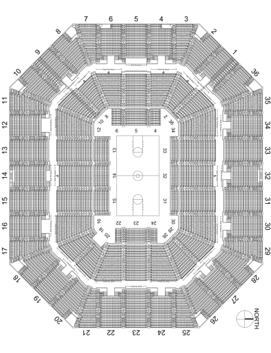Basketball-Seating