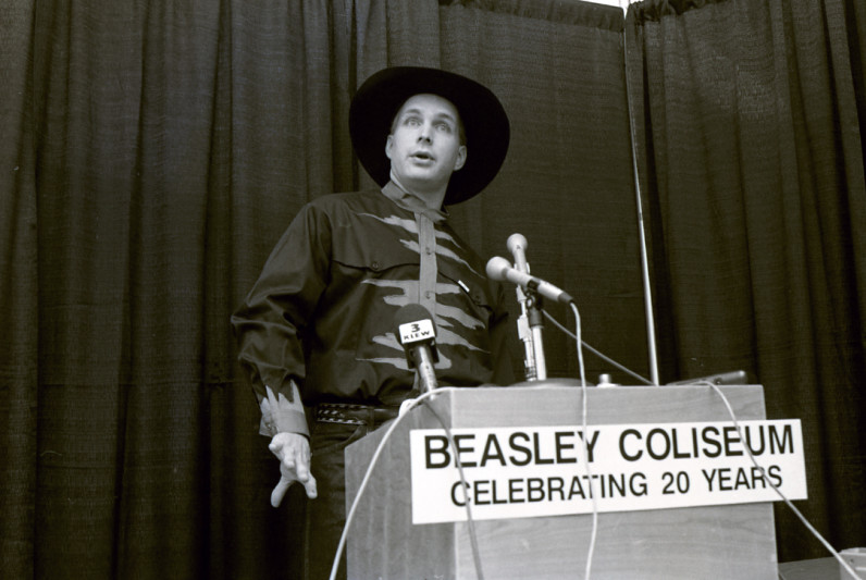 Garth Brooks celebrating 20 years of Beasley Coliseum
