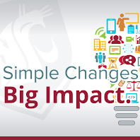 Faculty led workshops: Simple changes, big impact.