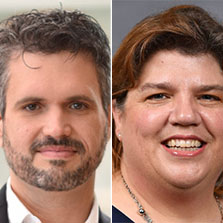 Interim assistant vice provosts Michael Highfill and Terese King are shown on the left and right, respectively.