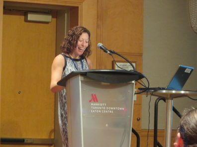 Dr. Jennifer Sherman presents at the Rural Sociological Society meeting in Toronto.