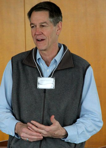 Dan Spencer, professor at University of Montana, delivered the keynote address at the biennial EARThS conference.
