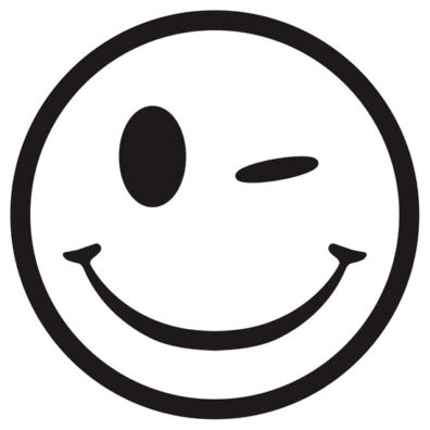 Wink & grin face