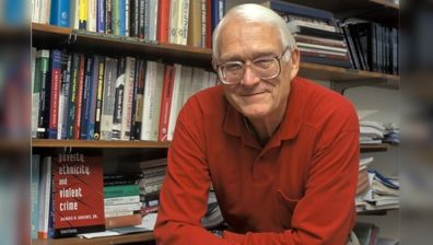 James Short, Jr. in his office at Washington State University in 2009.