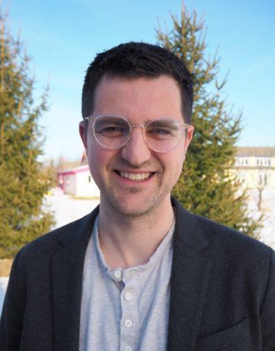 A photo ofDylan Bugden, PhD.