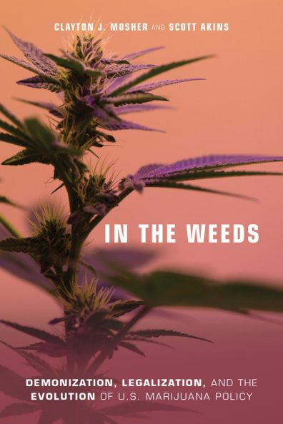 The cover of the book, In the Weeds.