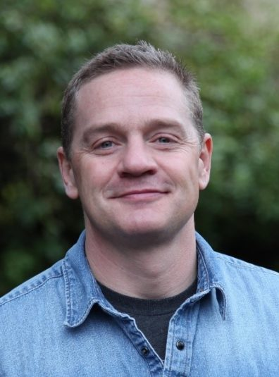 A photo of, In the Weeds, co-author, Scott Akins.