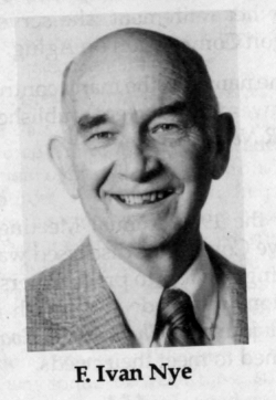 F. Ivan Nye