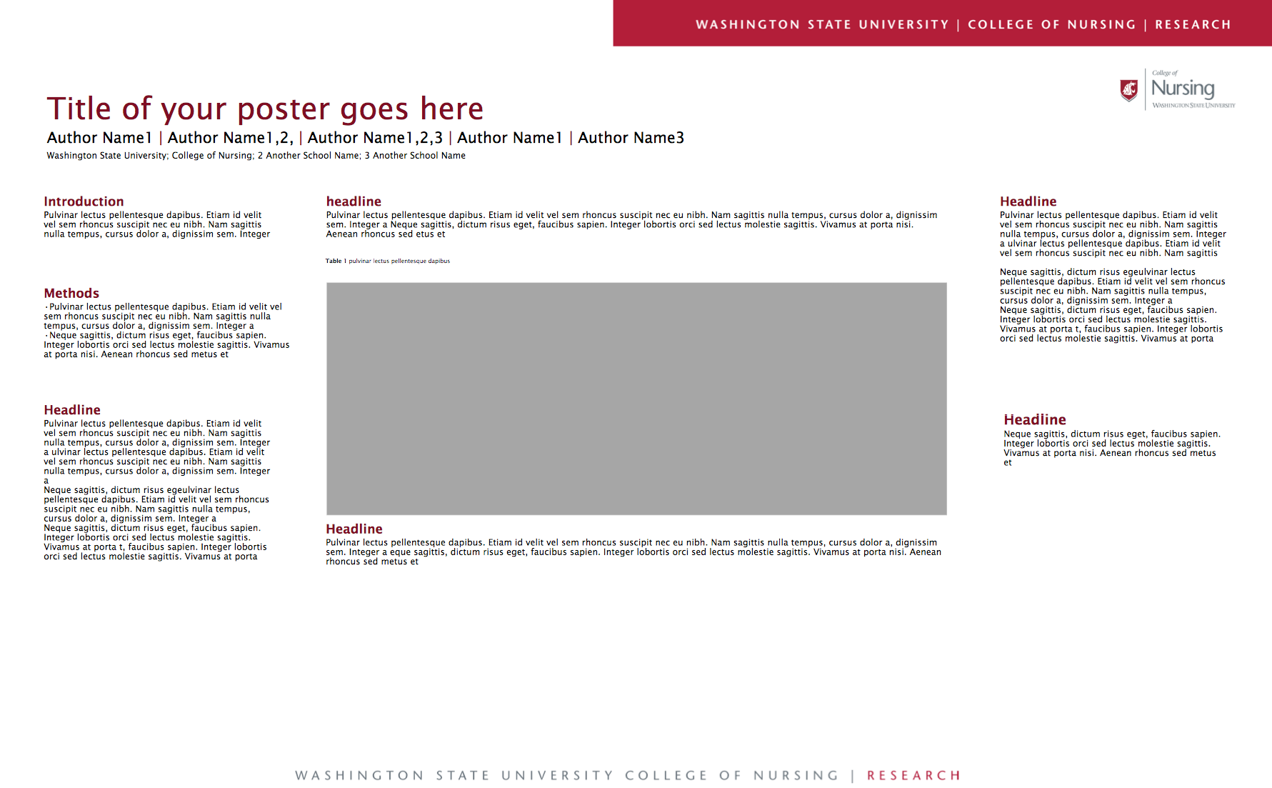 36 x 48 research poster template