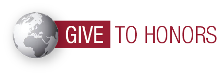 Give to Honors logo