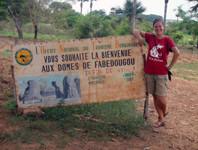 Sara Hein in Ghana