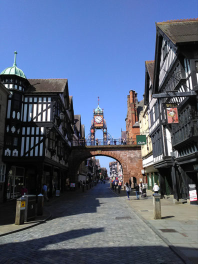 Clocktower in Chester
