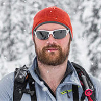 Andrew Flanagan pictured in a snowy outdoor scene.