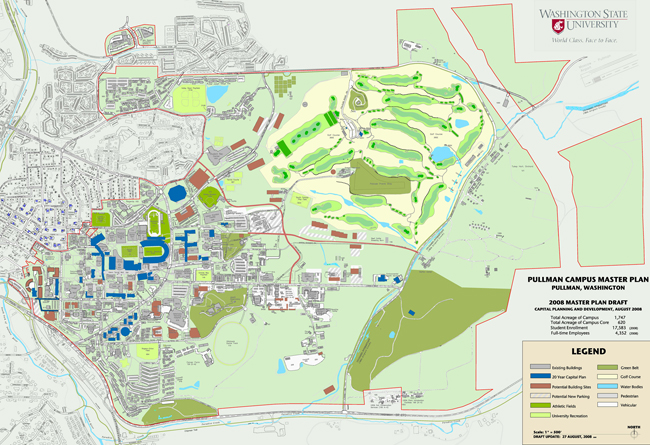 Pullman Campus Master Plan Consultant Selected Wsu Insider