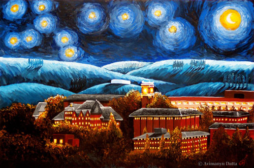 salvador dali starry night