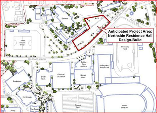 Regents ok design for northside residence hall wsu for Washington state approved house plans