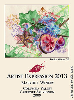 WBC 2013 wine label