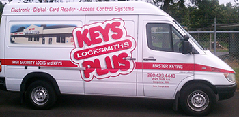 Keys Plus van