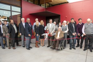 Ribbon Cutting. Photo by Shelly Hanks, WSU Photo Services