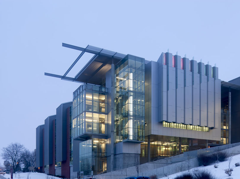 Research Building Earns High Honors In Lab Design