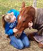 Lilianna with horst