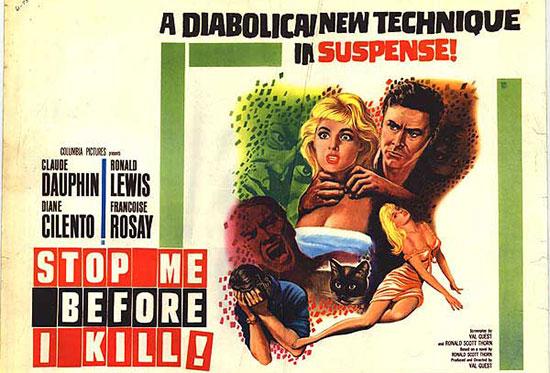 Affiche américaine du film Traitement de choc (Val Guest, 1961)