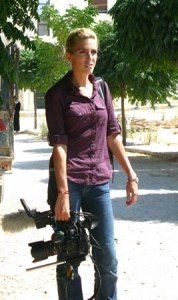 Clarissa Ward in Syria