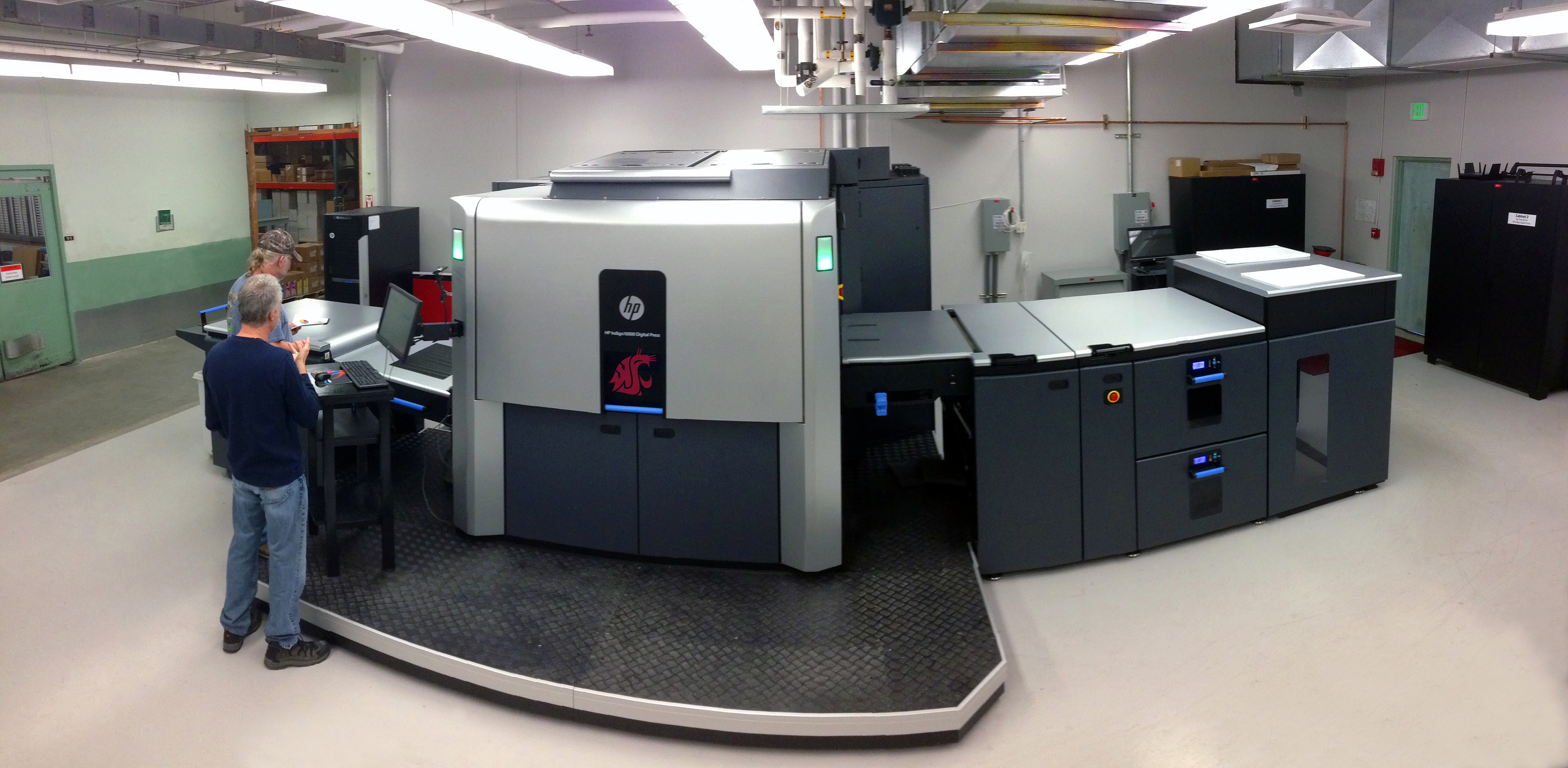 State-of-the-art press expands WSU's digital printing capacity | WSU