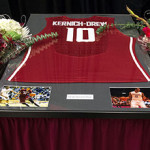 Senior day men's basketball photos by Dean Hare, WSU Photo Services.