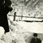 Ulleung-do inhabitants tunneled out of snow drifts during winters on the island.