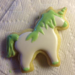 Sue Shipman decorated this unicorn cookie. (Photo courtesy of Sue Shipman)