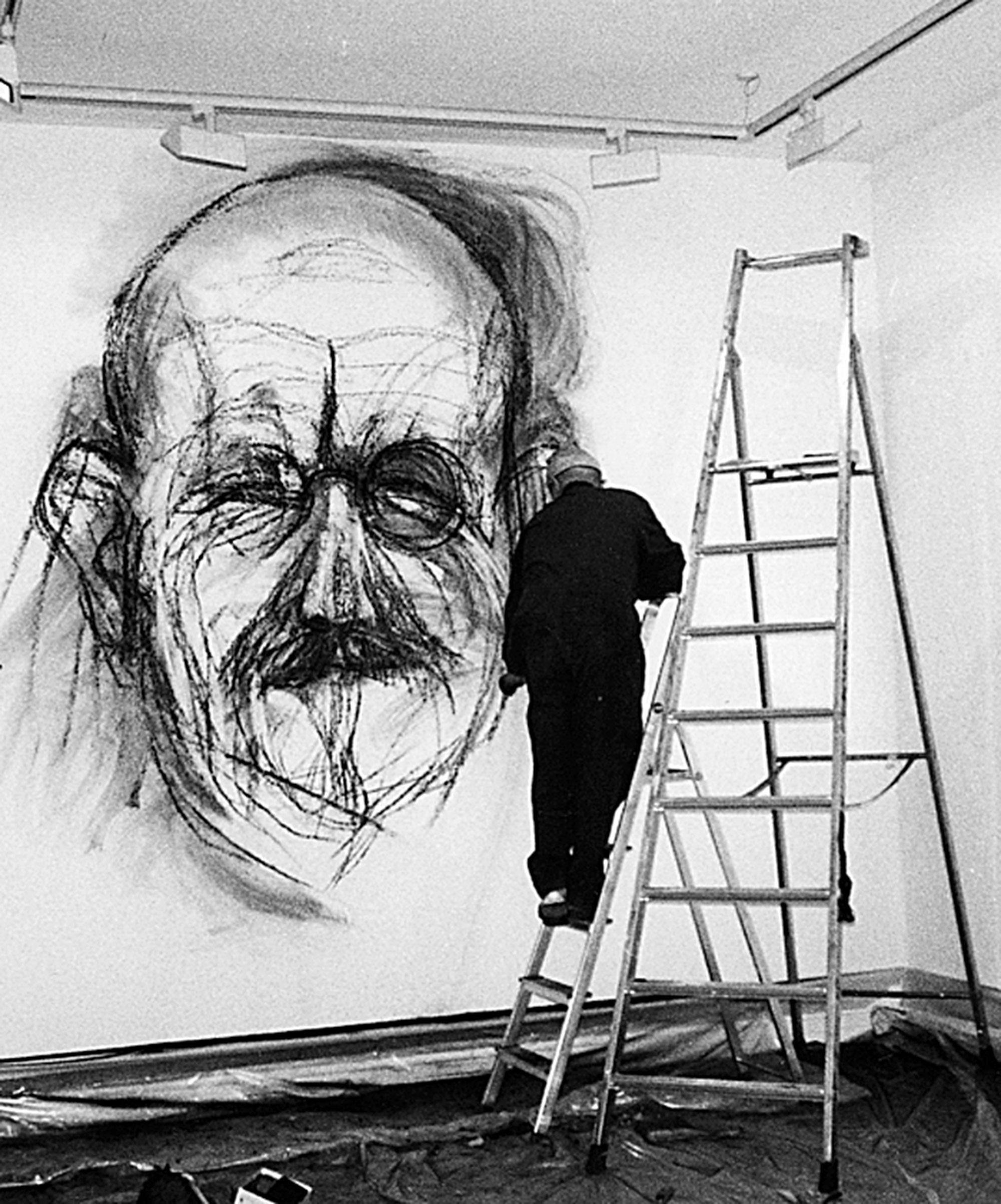 Jim Dine Self Portrait On The Walls Wsu News Washington State