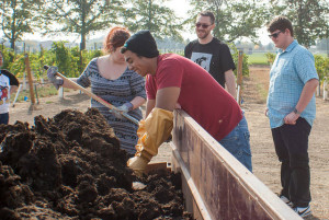 mixing-compost-at-wine-center