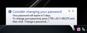 Has it been 180 days since you last changed your password