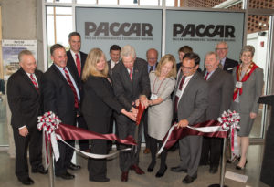 PACCAR building Dedication on the WSU campus.