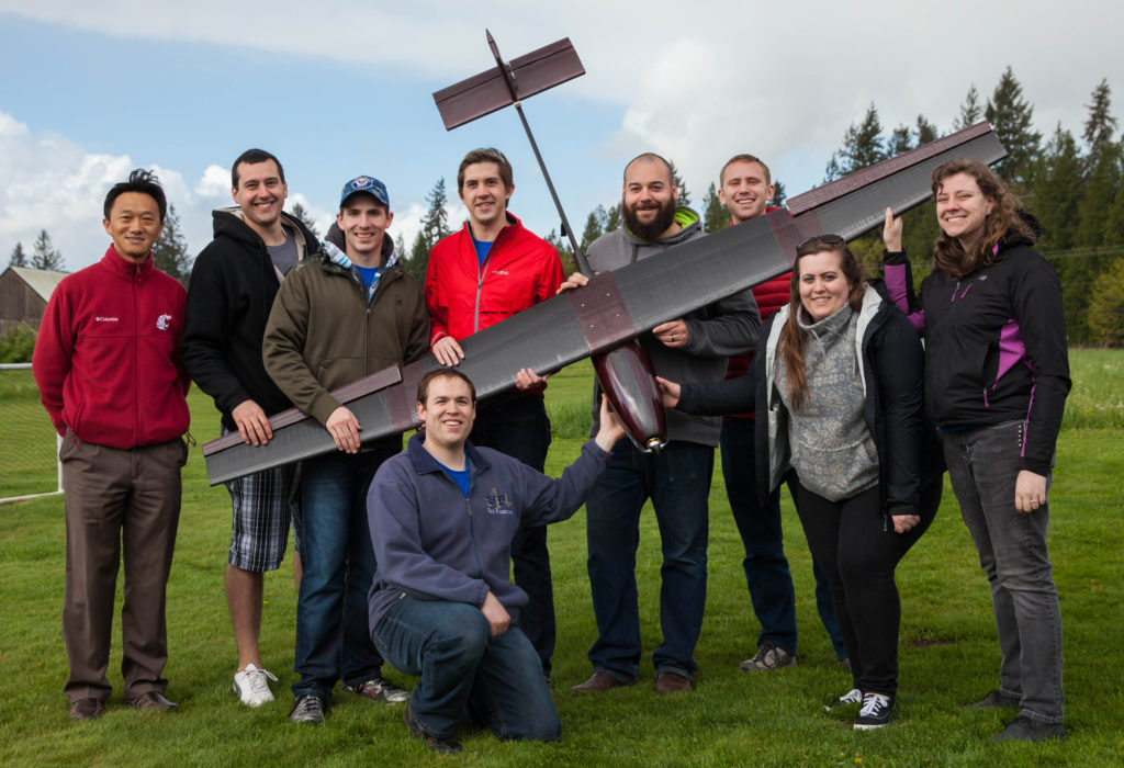 Students designed and built an unmanned surveillance aircraft for wildland firefighting.