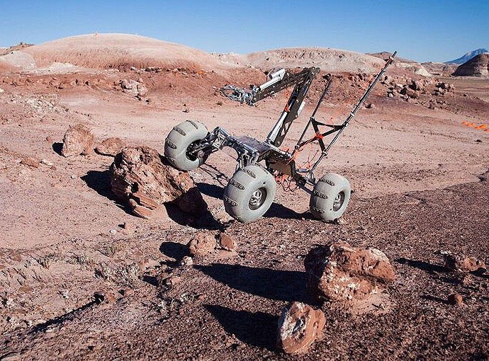 Mars rover team wins second in international competition ...