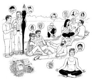 david-lasky-cartoonists-on-the-grass-web