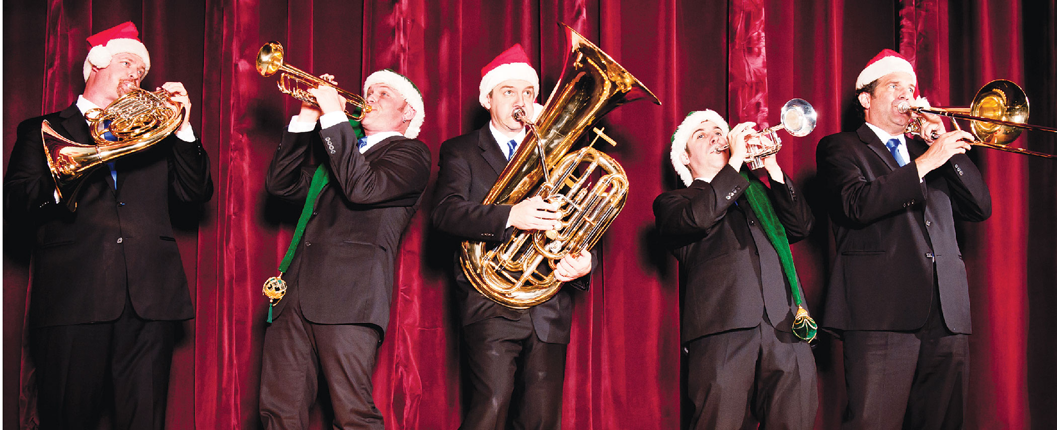 Dec 2 Presidio Brass Quintet Presents Holiday Favorites